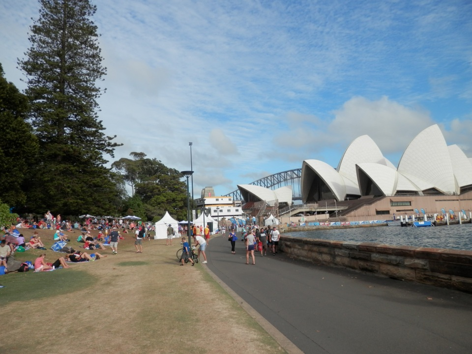 The Botanic Gardens and Opera House