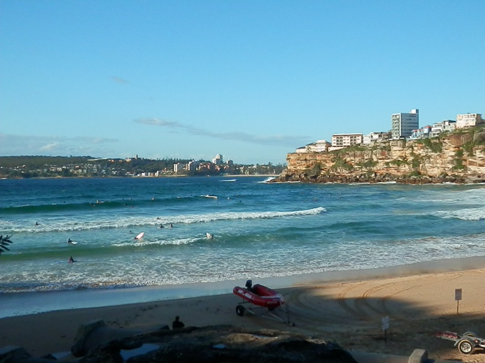 Beach looking towards Manly