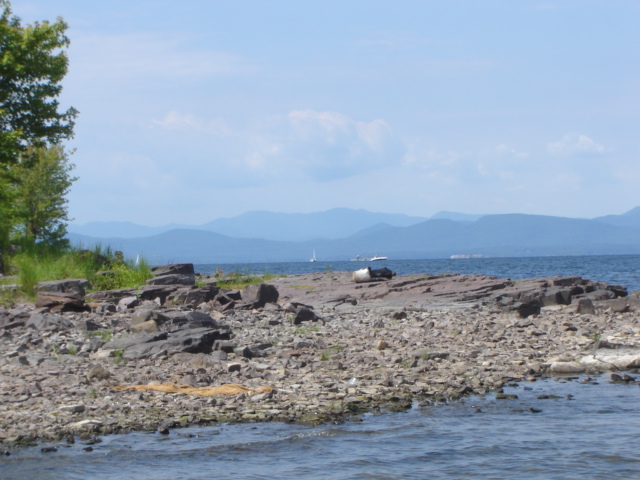 Lake Champlain Vermont USA