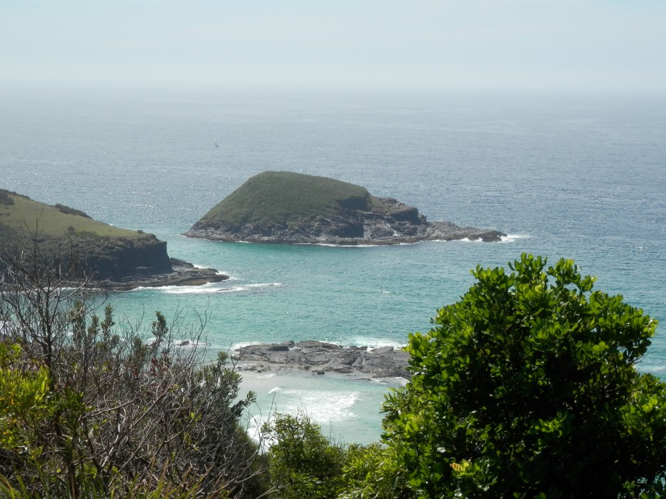 Green Island near South West Rocks in NSW
