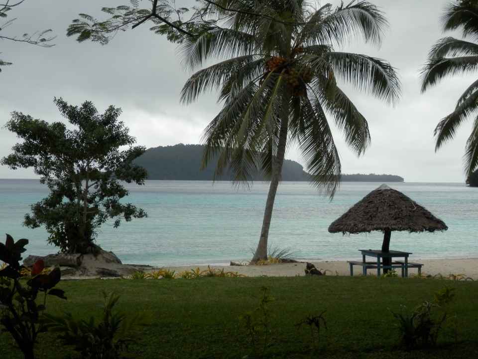 Just another beach in Vanuatu at Lonnoc Bay