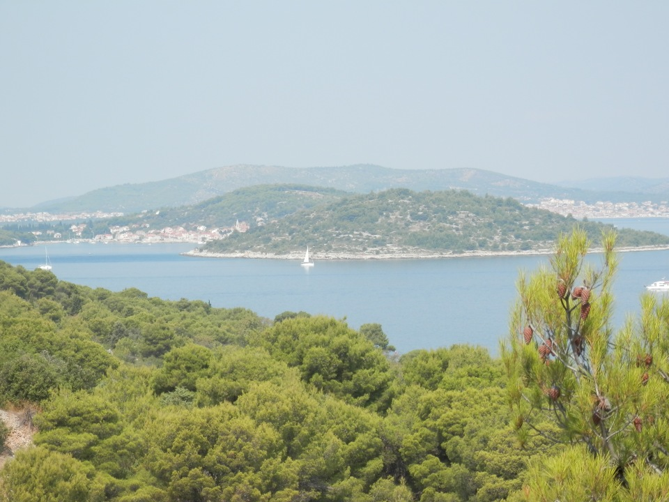 View of Prvic from Zlarin