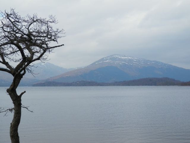 Looking west towards Luss
