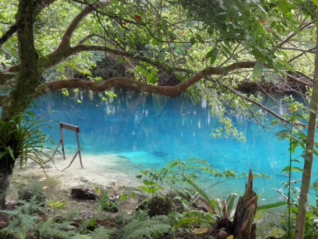 One of the blue holes that are incredible
