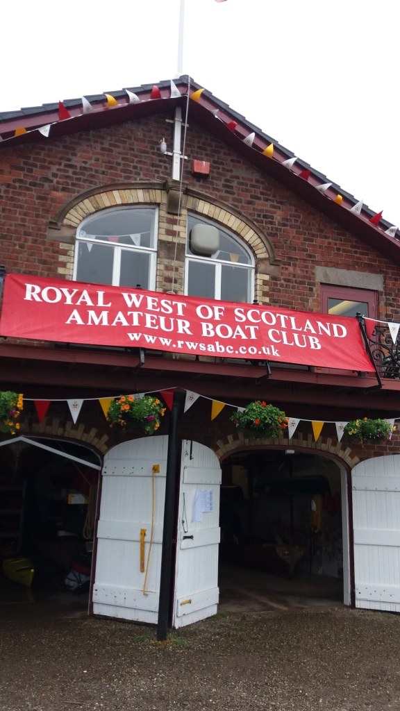 Royal West of Scotland Amateur Boatmans Club at Greenock on the Clyde River