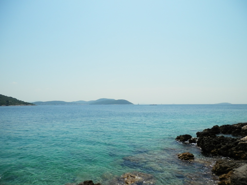 Some of the islands near Prvic Luka