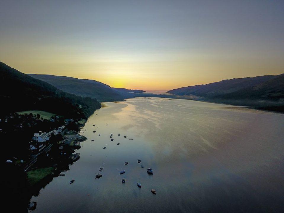 Loch Ard Aerial