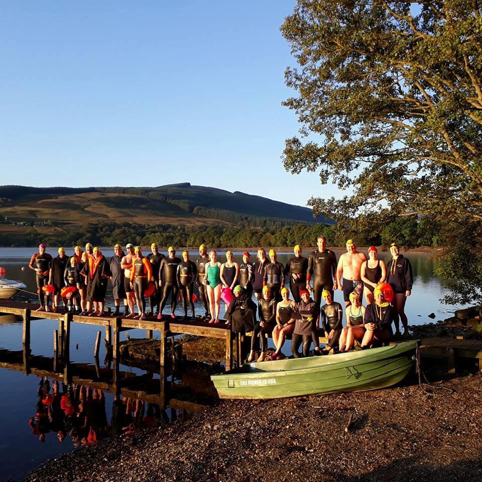 Loch Earn group shot